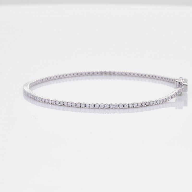 White Gold Diamond Tennis Bracelet 11