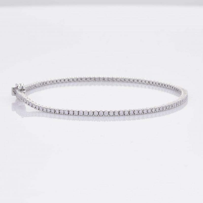 White Gold Diamond Tennis Bracelet 27
