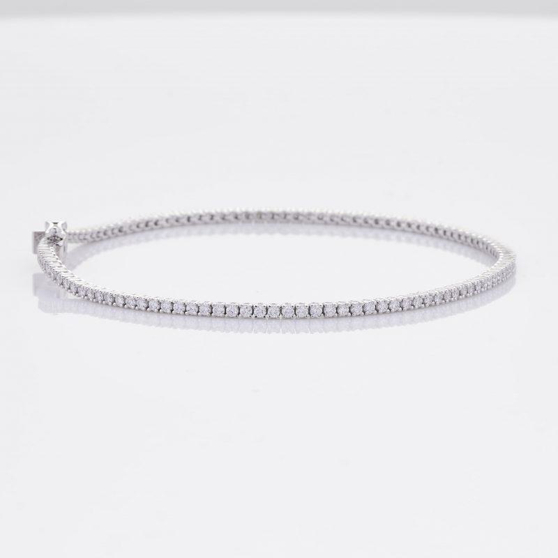 White Gold Diamond Tennis Bracelet 28