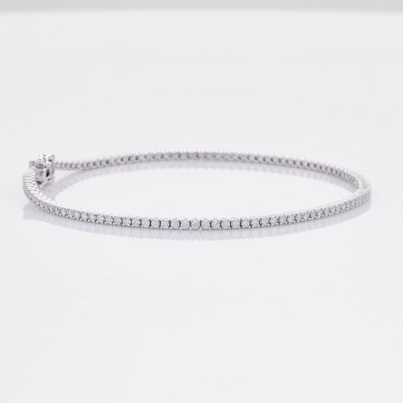 White Gold Diamond Tennis Bracelet 29