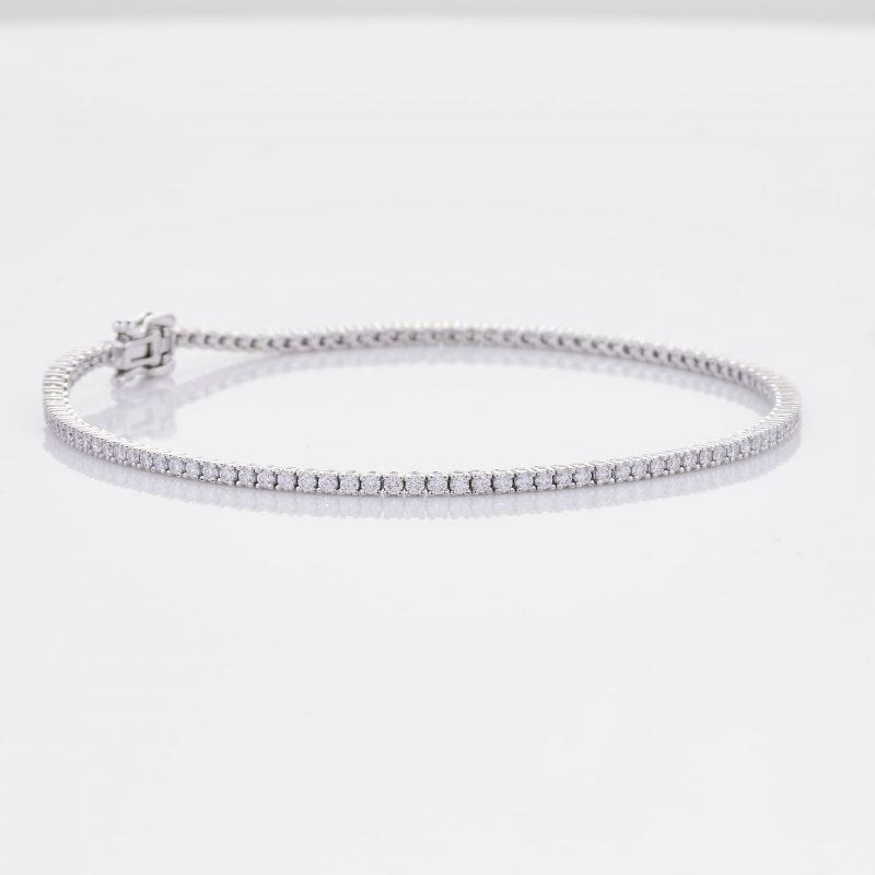 White Gold Diamond Tennis Bracelet 31
