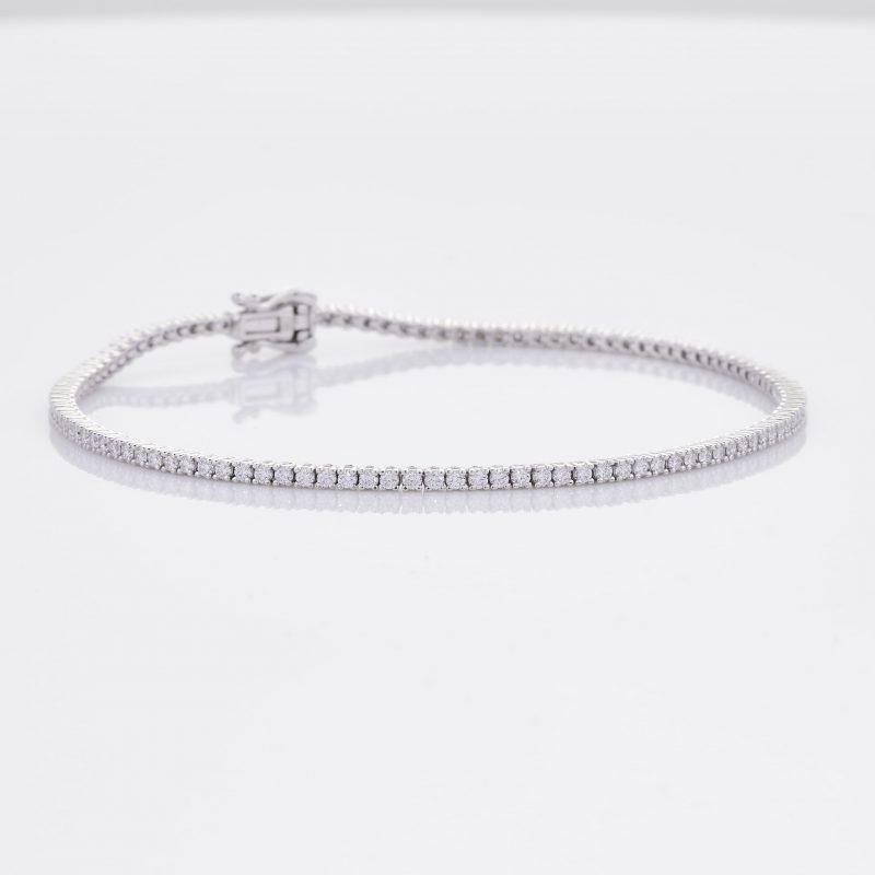 White Gold Diamond Tennis Bracelet 34