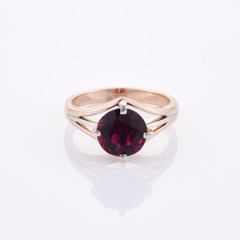 Deep Rouge Tourmaline Ring 001