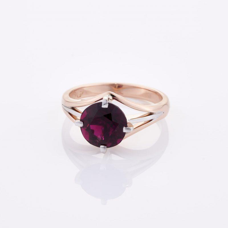 Deep Rouge Tourmaline Ring 002