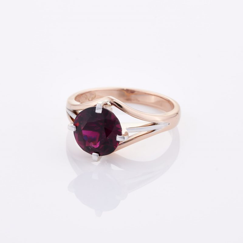 Deep Rouge Tourmaline Ring 003