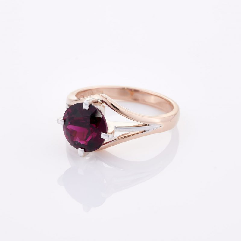 Deep Rouge Tourmaline Ring 004