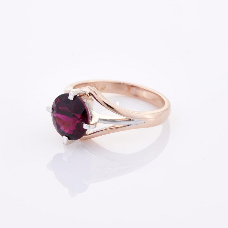 Deep Rouge Tourmaline Ring 005