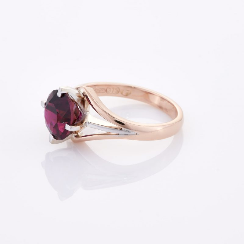 Deep Rouge Tourmaline Ring 007
