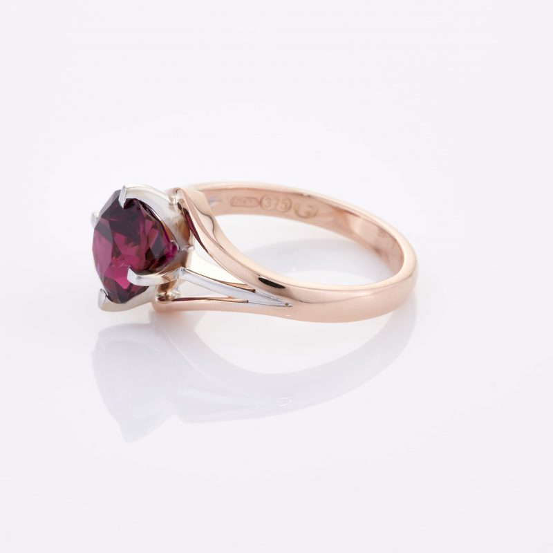 Deep Rouge Tourmaline Ring 008