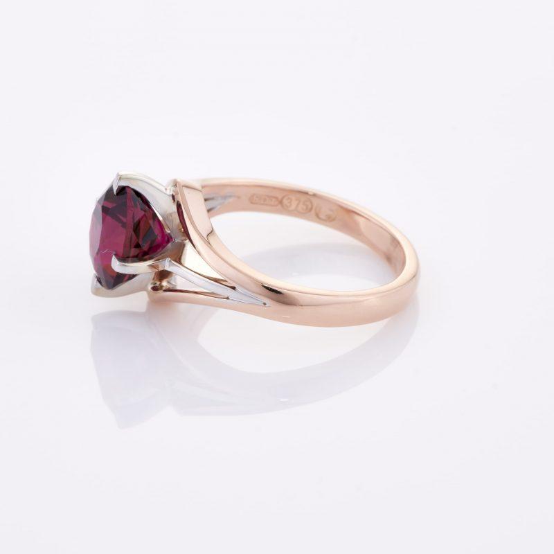Deep Rouge Tourmaline Ring 009