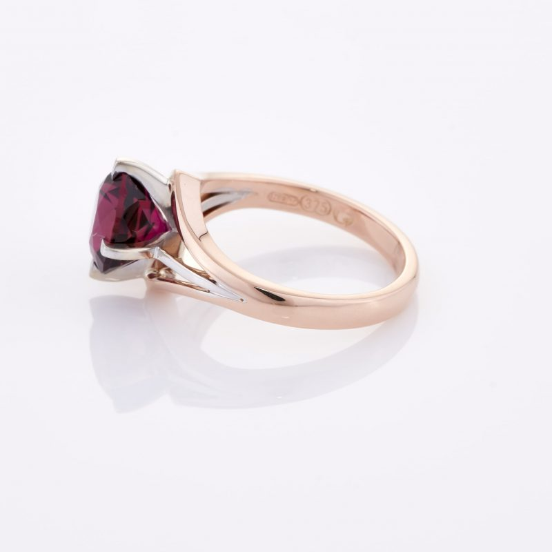 Deep Rouge Tourmaline Ring 010