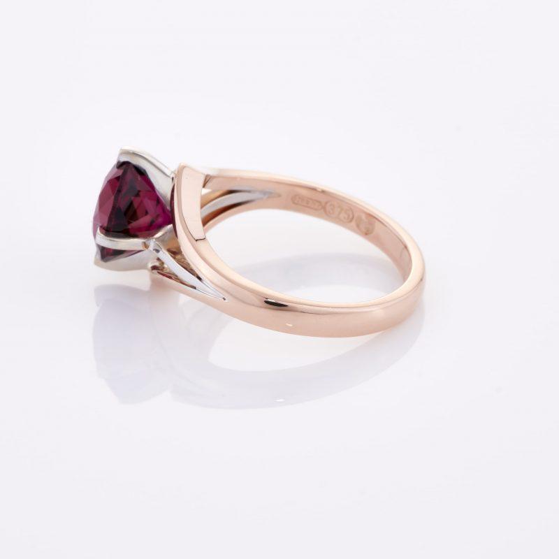 Deep Rouge Tourmaline Ring 011