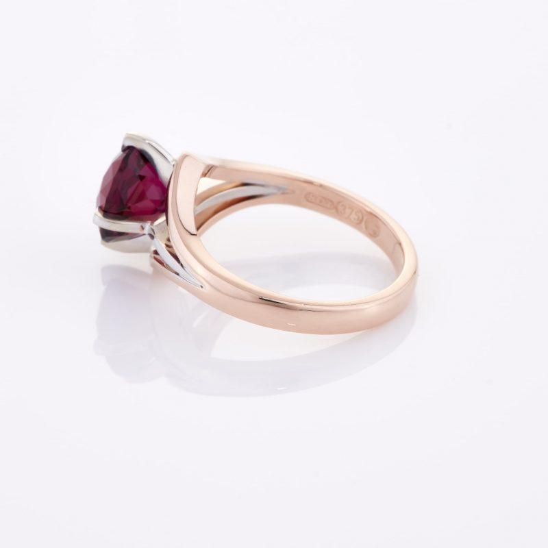Deep Rouge Tourmaline Ring 012