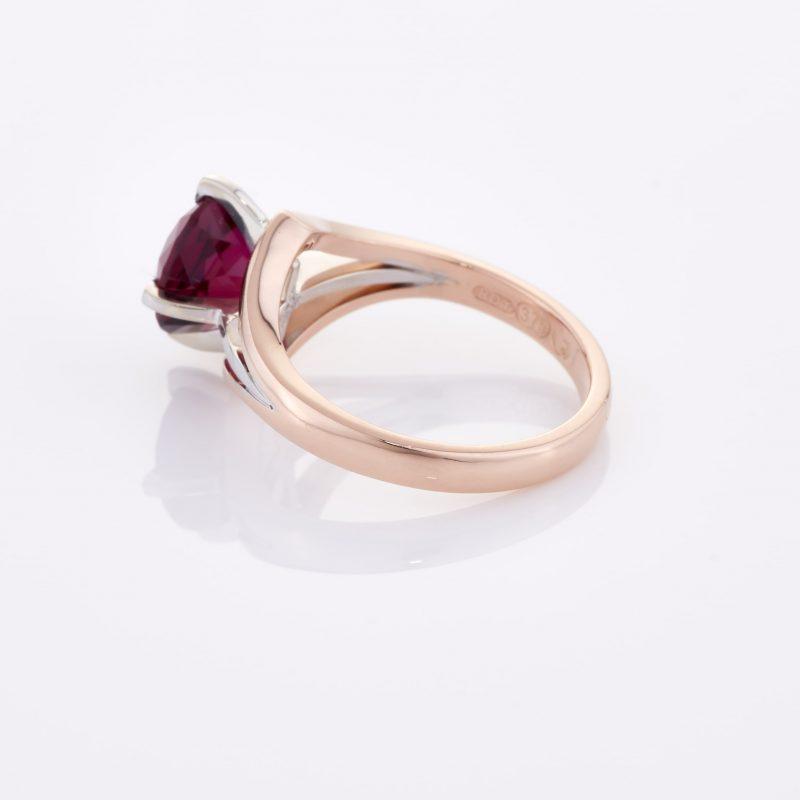 Deep Rouge Tourmaline Ring 013
