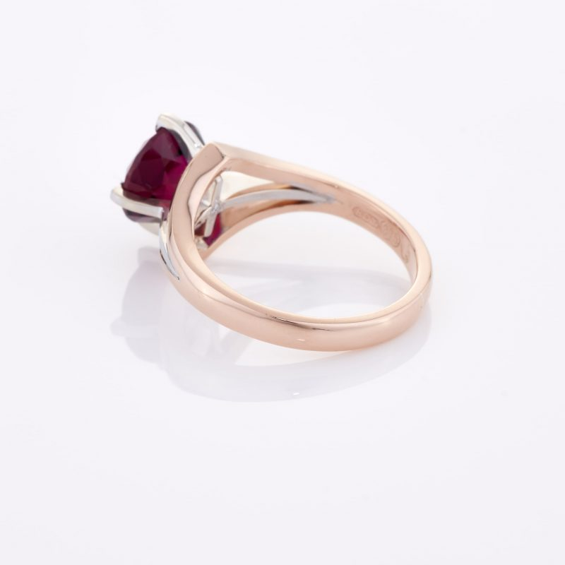 Deep Rouge Tourmaline Ring 014
