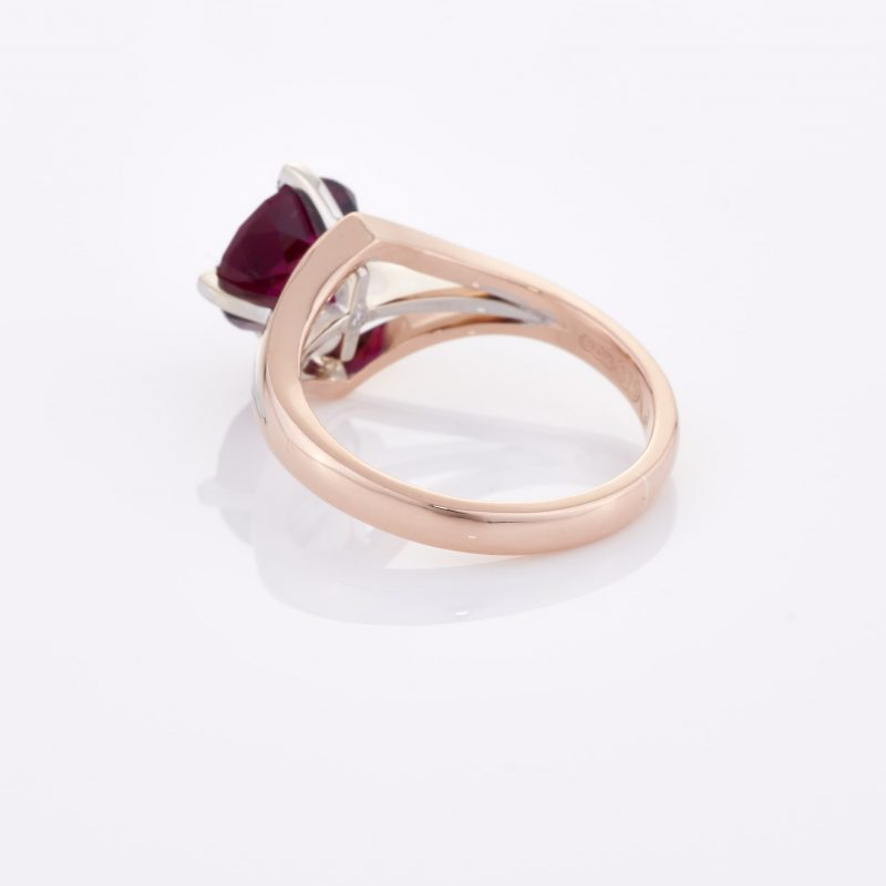 Deep Rouge Tourmaline Ring 015