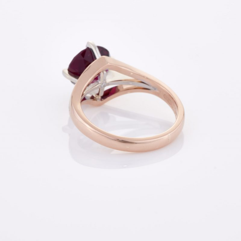 Deep Rouge Tourmaline Ring 016