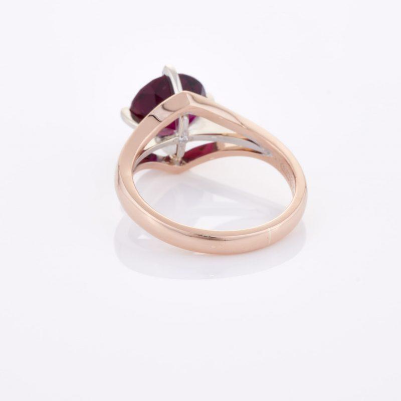 Deep Rouge Tourmaline Ring 017