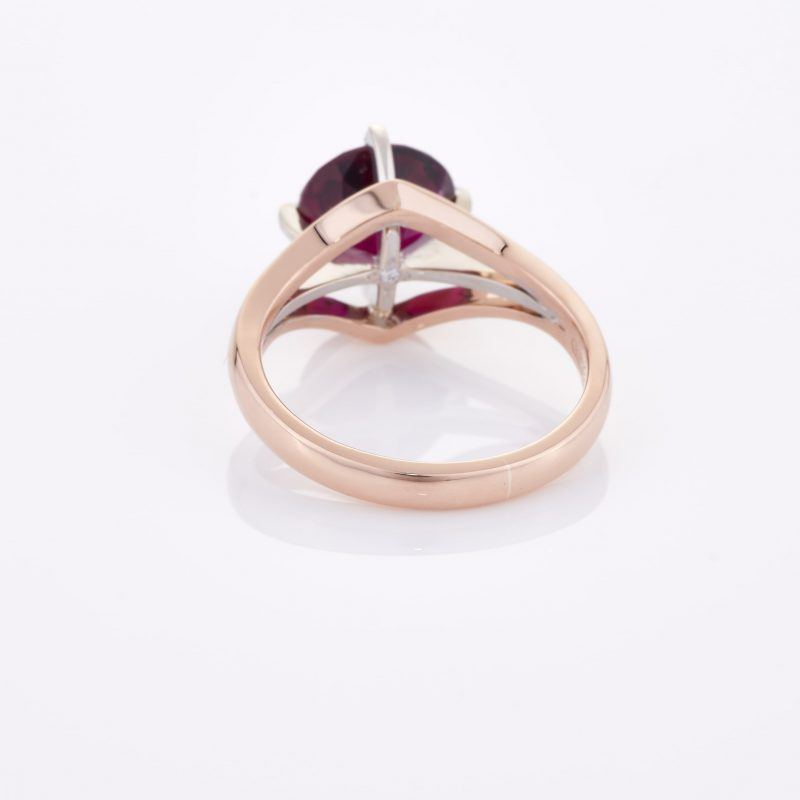 Deep Rouge Tourmaline Ring 018