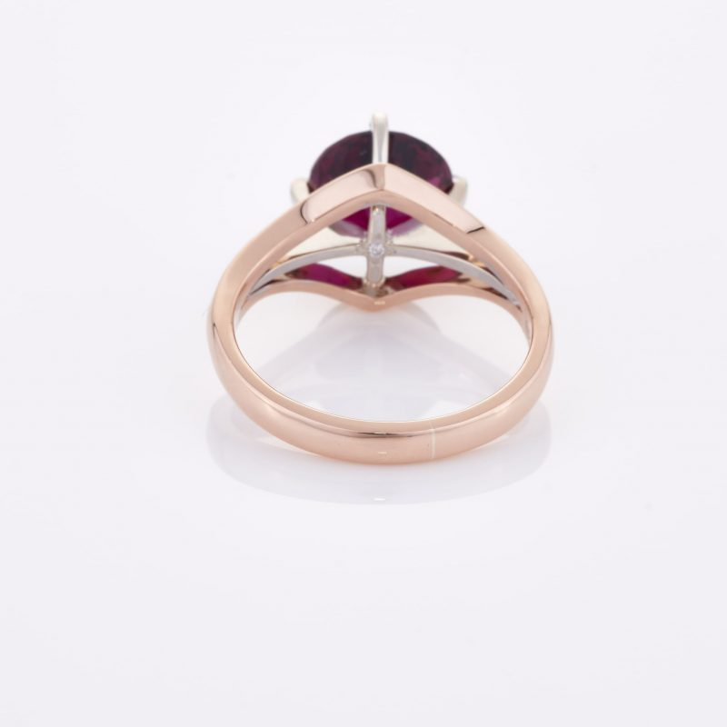 Deep Rouge Tourmaline Ring 019
