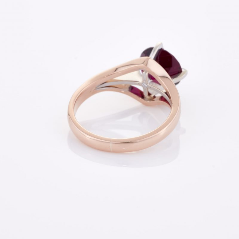 Deep Rouge Tourmaline Ring 022