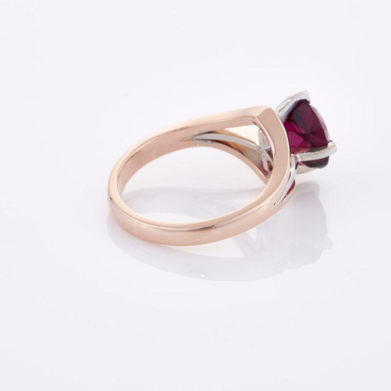 Deep Rouge Tourmaline Ring 025