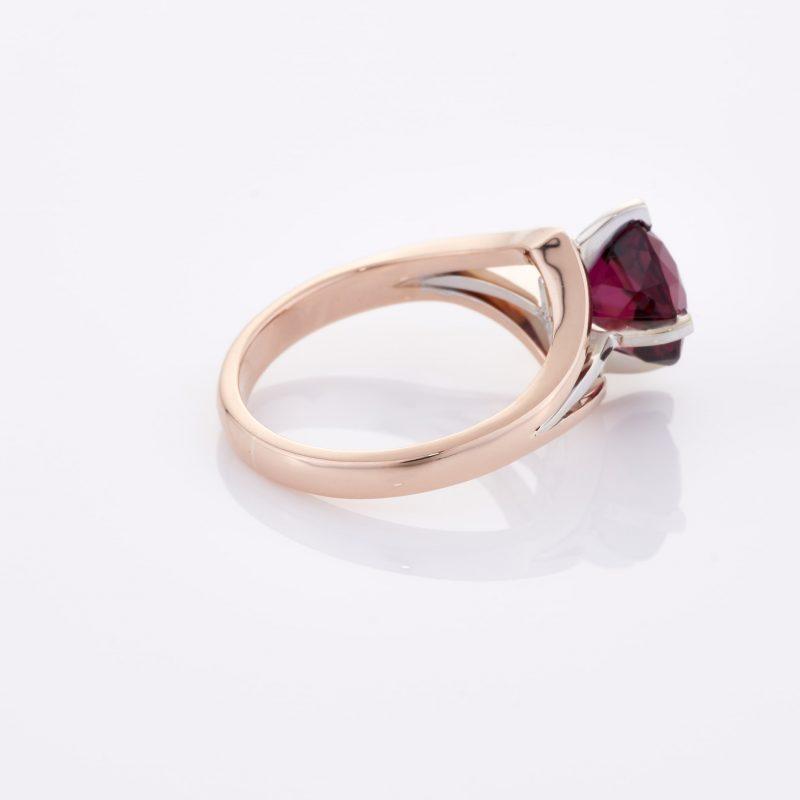 Deep Rouge Tourmaline Ring 026