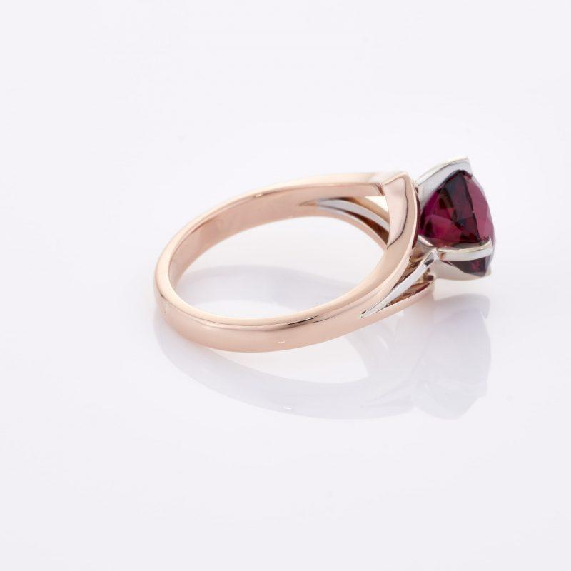 Deep Rouge Tourmaline Ring 027