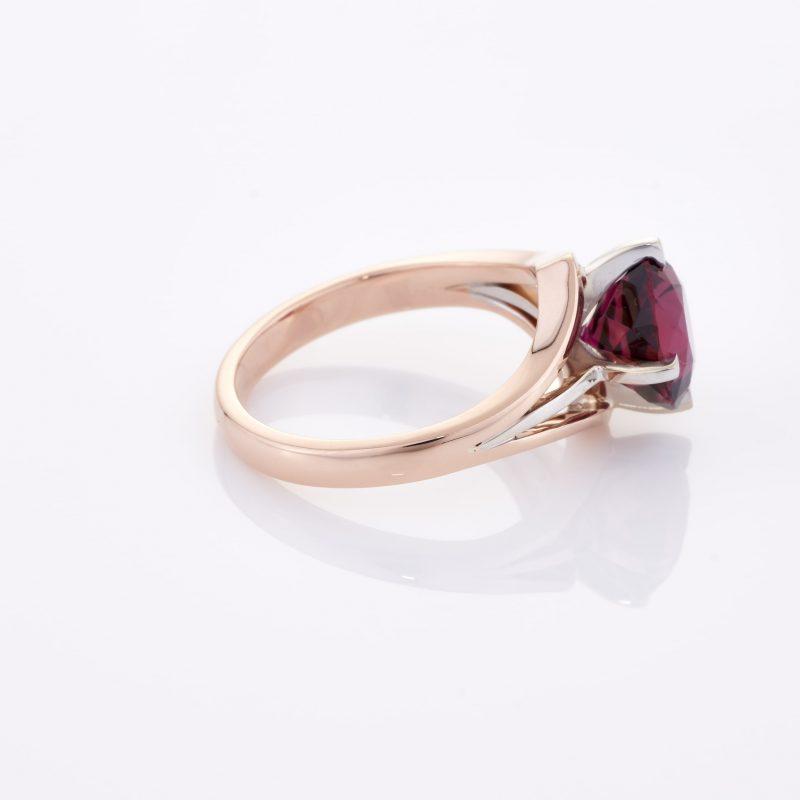 Deep Rouge Tourmaline Ring 028