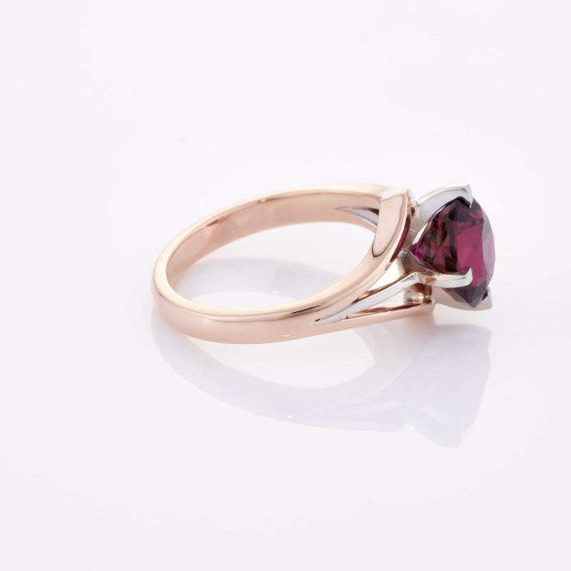 Deep Rouge Tourmaline Ring 029