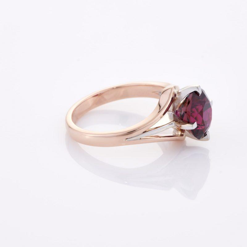 Deep Rouge Tourmaline Ring 030