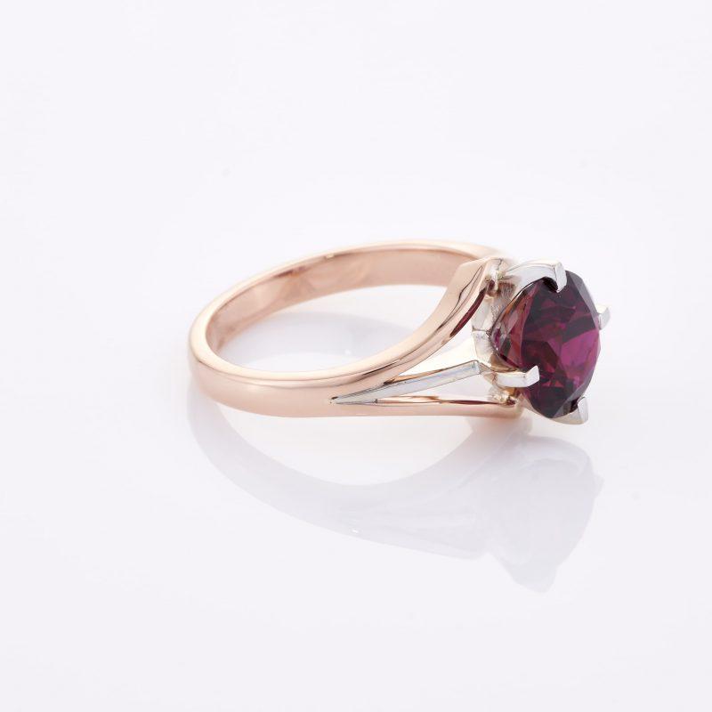 Deep Rouge Tourmaline Ring 031
