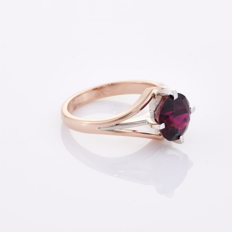Deep Rouge Tourmaline Ring 032