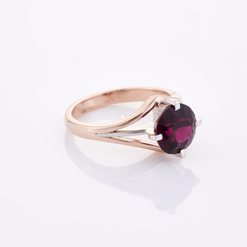 Deep Rouge Tourmaline Ring 033