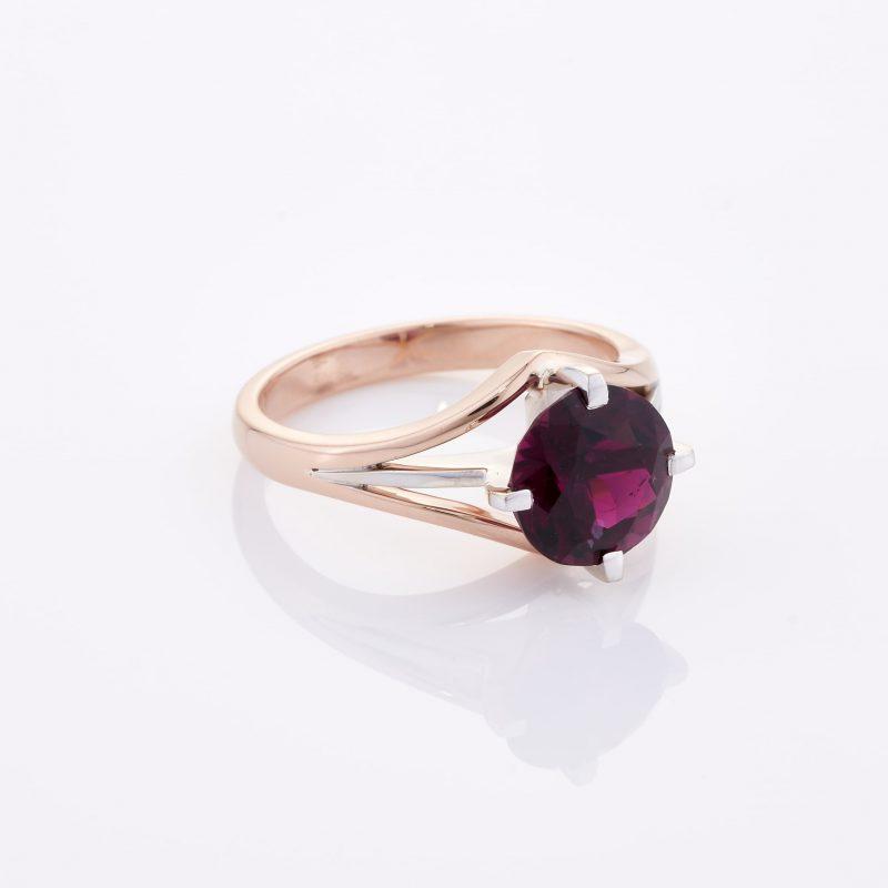 Deep Rouge Tourmaline Ring 034