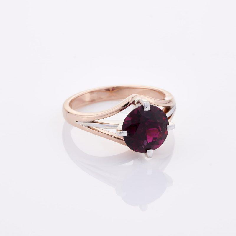 Deep Rouge Tourmaline Ring 035