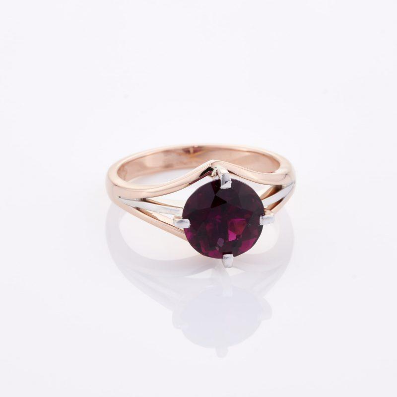 Deep Rouge Tourmaline Ring 036