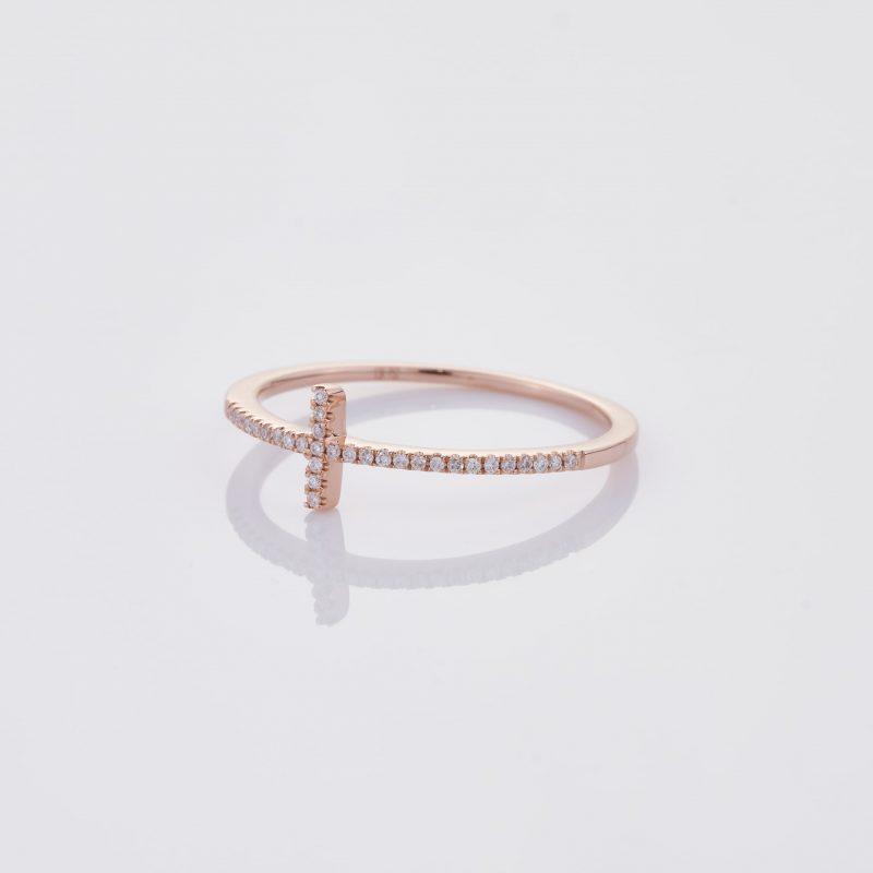 Delicate Cross Ring 003