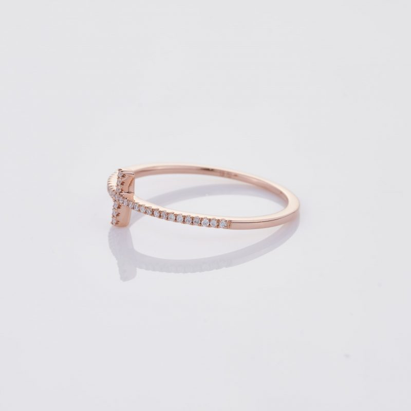 Delicate Cross Ring 006