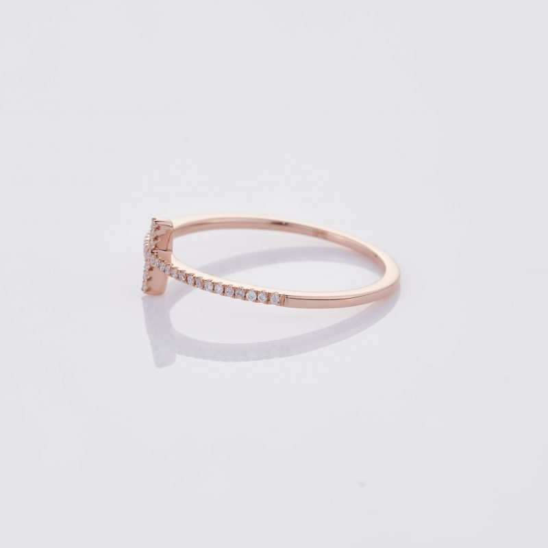 Delicate Cross Ring 007