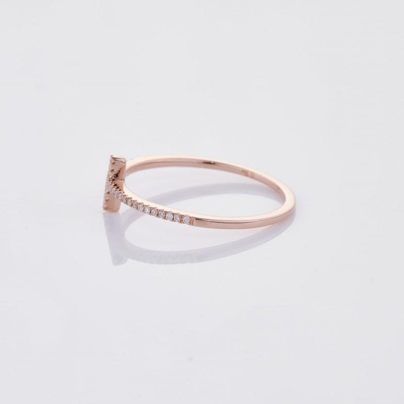 Delicate Cross Ring 008