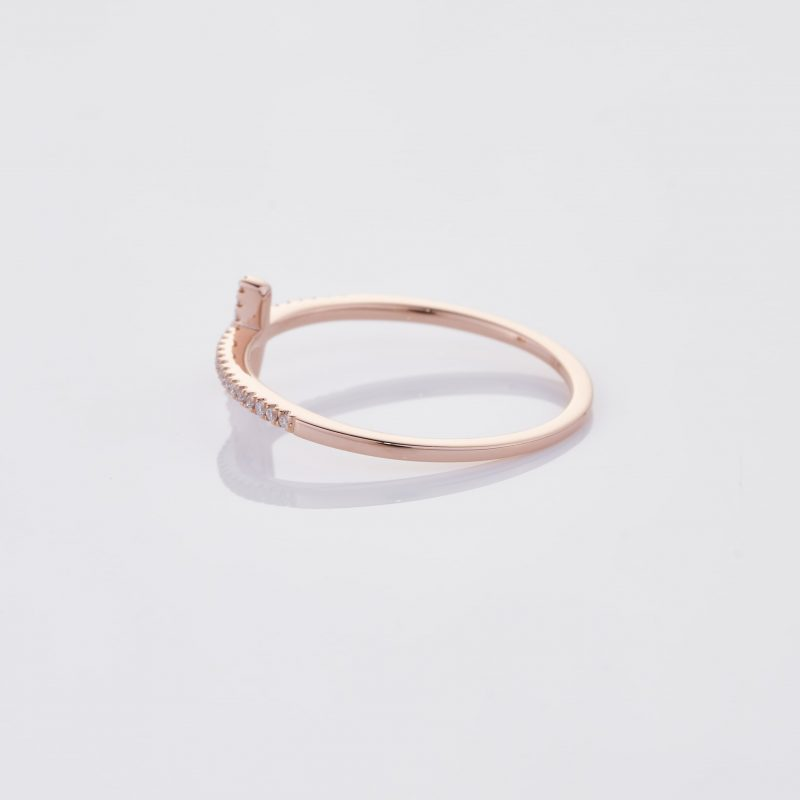 Delicate Cross Ring 011