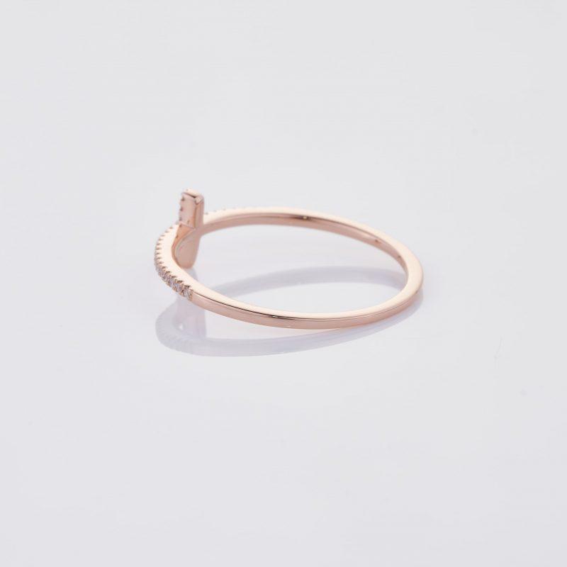 Delicate Cross Ring 012
