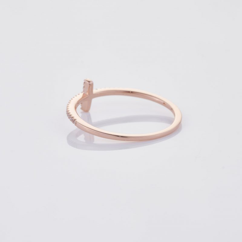 Delicate Cross Ring 013