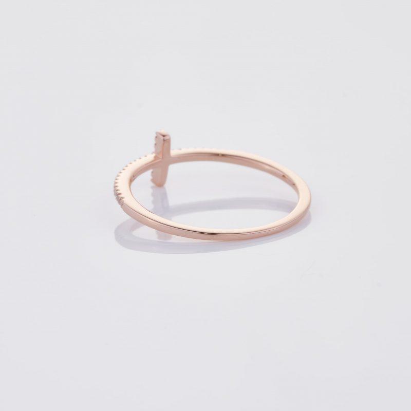 Delicate Cross Ring 014