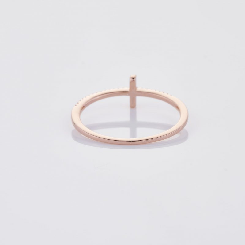 Delicate Cross Ring 017