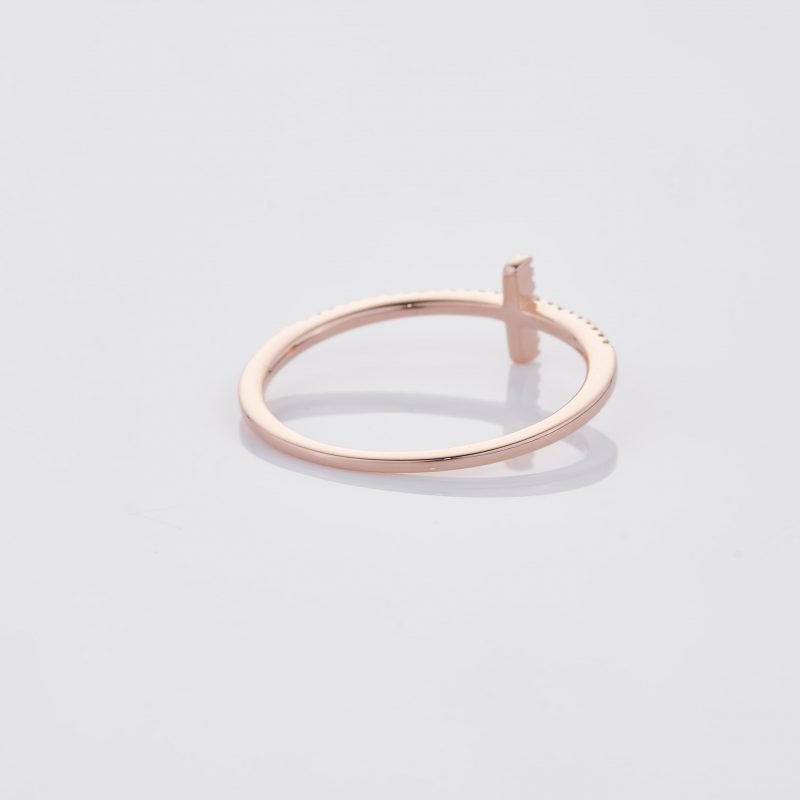 Delicate Cross Ring 021