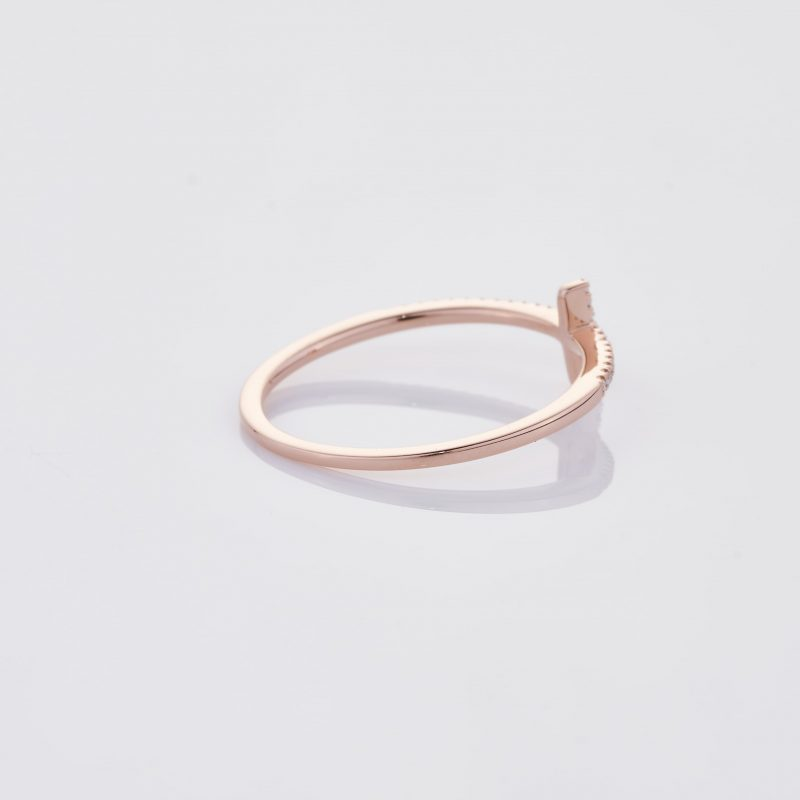 Delicate Cross Ring 024