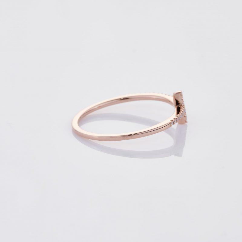 Delicate Cross Ring 026