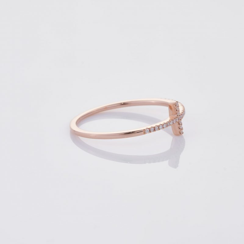 Delicate Cross Ring 029